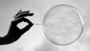 bubble popped
